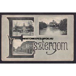 Esztergom régi képeslapon. Tatarek József kiadása