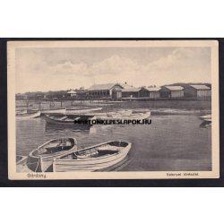 Gárdony régi képeslapon. Velencei tórészlet, 1930. Benda nővérek kiadása.
