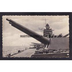 HMS Rodney. Brit királyi Haditengerészet Nelson osztályú csatahajója.