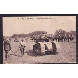 Francia tank, hátul lovasság