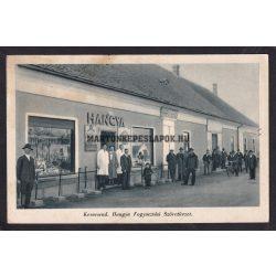 Kerecsend régi képeslapon. Hangya Fogyasztási Szövetkezet. 1939