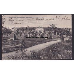 Gödöllő régi képeslapon. Magyar királyi méhészeti gazdaság. Kiadó Monostory György, Budapest.