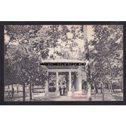 Balatonfüred régi képeslapon. Fő forrás. Grüner Simon kiadása
